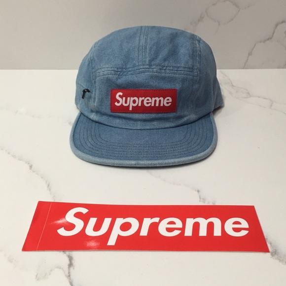 f8f02823c9e Supreme Side Zip Camp Cap